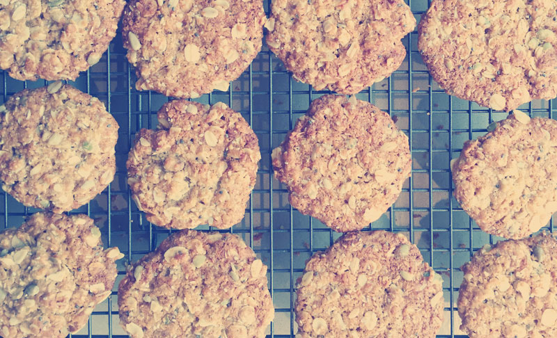 Great Gran's Anzac Biscuits